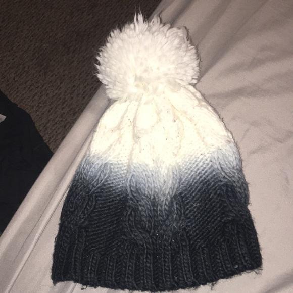 d3a8906d Accessories | Ombre Puffball Hat | Poshmark